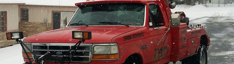 Snow Plowing | Zap's Towing & Recovering | Prescott, AZ | (928) 533-6090